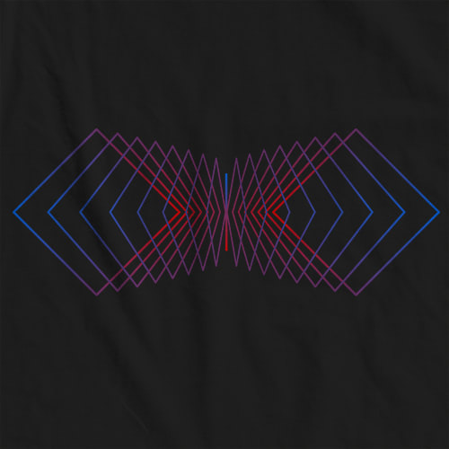 Red Shift Diamond T-shirt
